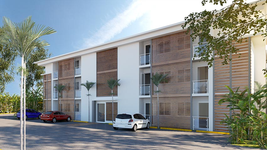 Valcaoba, construction de logements par Daniel Dabilly, architecte